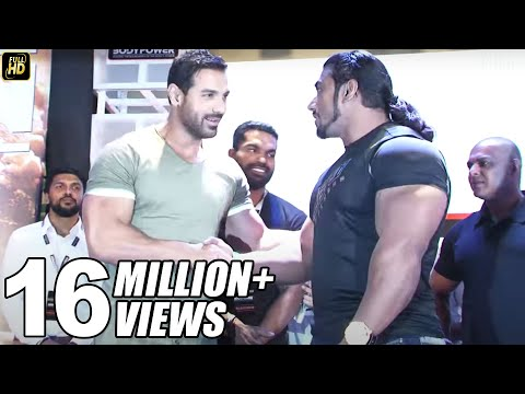 John Abraham With Gym Bodybuilders