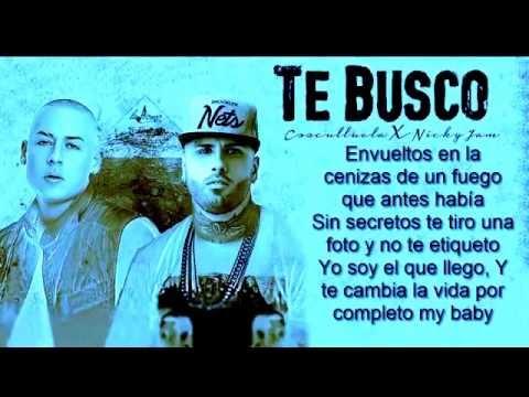 Te Busco   Cosculluela Feat  Nicky Jam Original Reggeton 2015