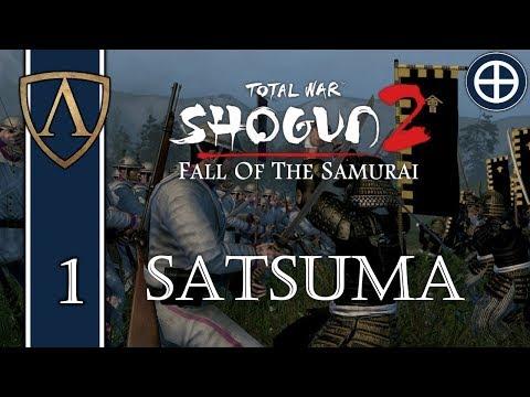 Let's Play Total War: SHOGUN 2 -- Very Hard Satsuma -- Part 1