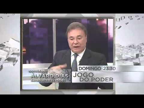 CHAMADA JOGO DO PODER - SENADOR ÁLVARO DIAS (16/08/15)
