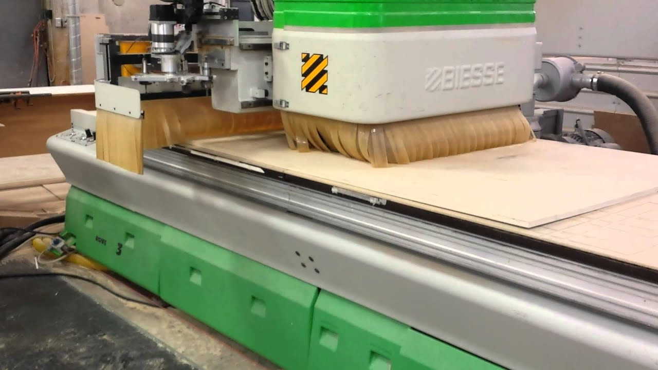 Biesse Rover 23 Ft Nesting Cnc Youtube