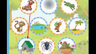 """Окружающий мир. Дидактическая игра  для детей """"Кто где живет""""/ Знакомим ребенка с окружающим миром"""