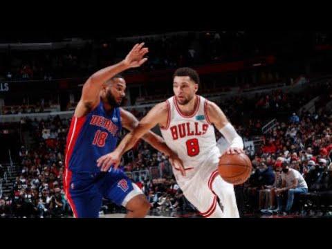 Download Detroit Pistons vs Chicago Bulls Full Game Highlights | October 23 | 2022 NBA Season
