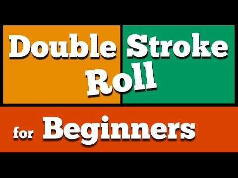 How To Play Double Stroke Roll for Beginners