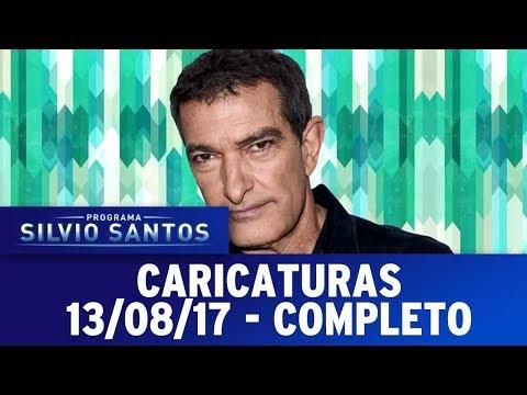 Caricaturas - Completo | Programa Silvio Santos (13/08/17)