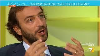 Emiliano Fittipaldi: 'Stadio Roma, viene messo sotto processo politico il nuovo che avanza'