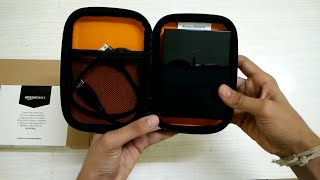AmazonBasics External Hard Disk Case - Review