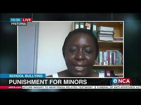 School bullying   Punishment for minors