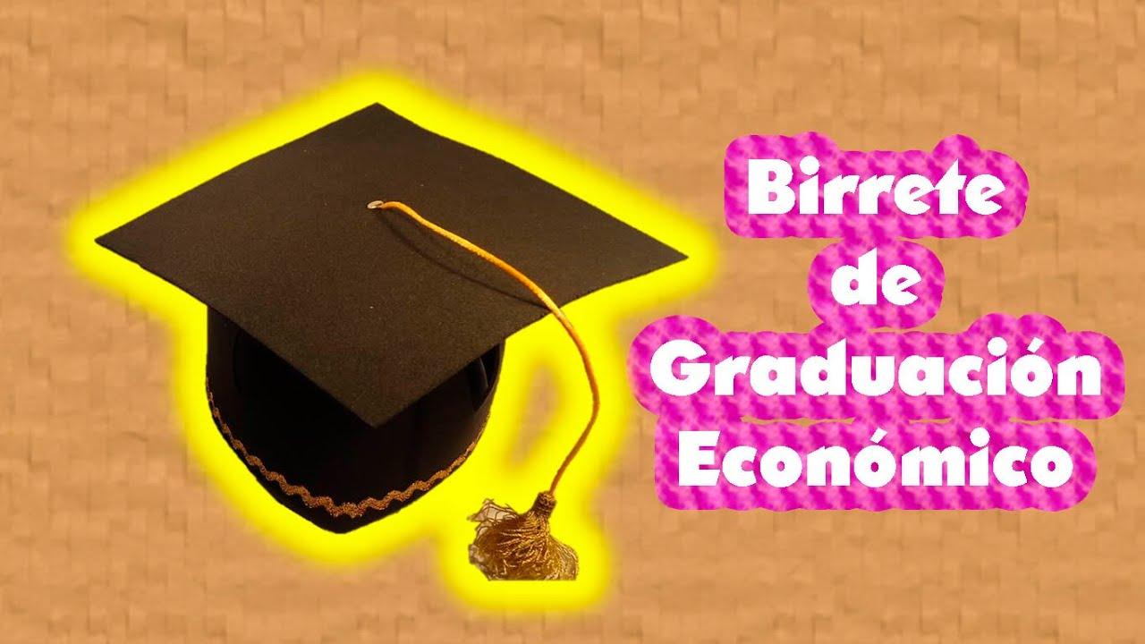 DIY  Birrete para graduacin  PumitaNegraArt  YouTube