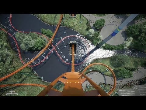 The Bob and Christine Morning Show - New Coaster Producer Jamie Wants To Try: The Yukon Striker Dives at 90 MPH