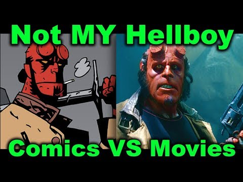 Not MY Hellboy: Comics vs Movies