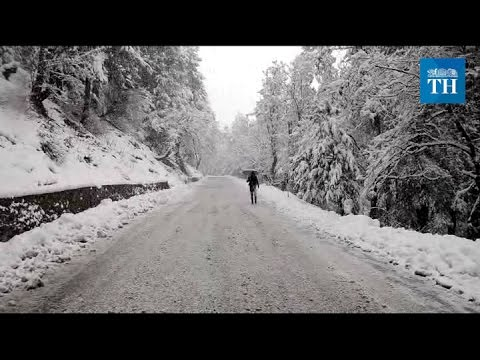 Winter arrives in the Kashmir Valley