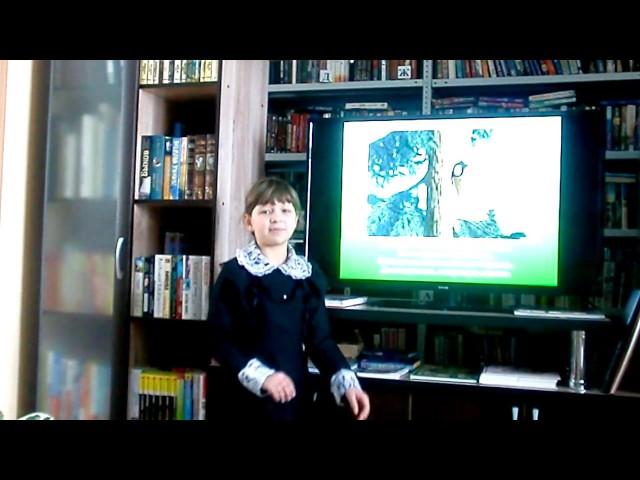 Изображение предпросмотра прочтения – МаринаРазгонова читает произведение «Ворона и Лисица» И.А.Крылова