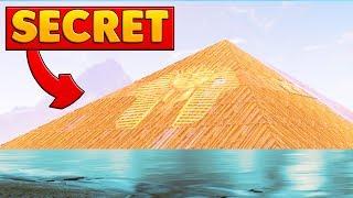 THE SECRET LOOT LAKE PYRAMID | Fortnite Battle Royale