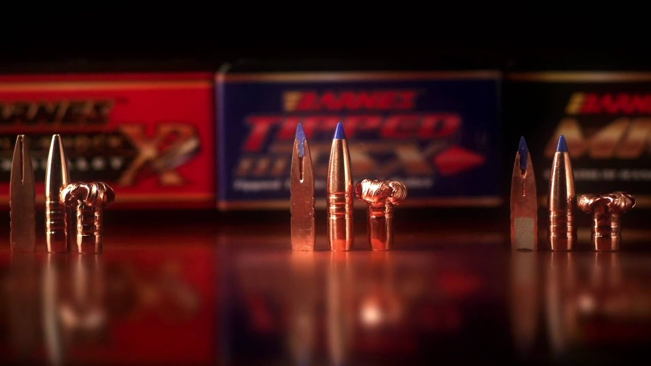 Barnes TSX TTSX MRX Bullets - YouTube