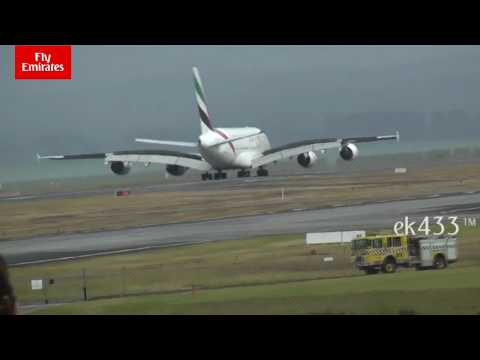 Emirates Daily Operations at Auckland Series (Part 2) | Landing