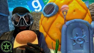 SECRETS OF BIKINI BOTTOM - Gmod Gune: TTT | Let's Play