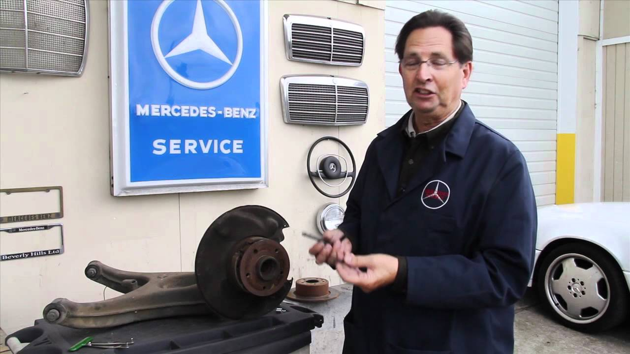 Mercedes emergency brake inspection and repair tools and for Mercedes benz brake tools