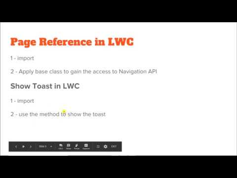 Page Reference in LWC || Show Toast Notification in Web Component  #PageReference #ShowToast