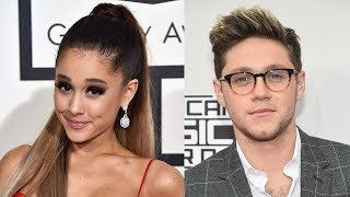 Ariana Grande Sends Sweet Message To Niall Horan During His Manchester Show
