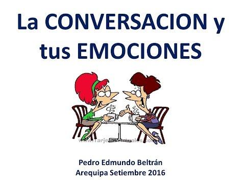 La conversación y las emociones