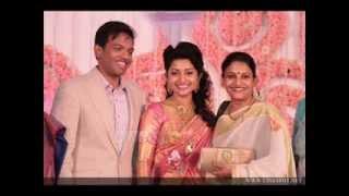 Meera jasmine marriage wedding reception video