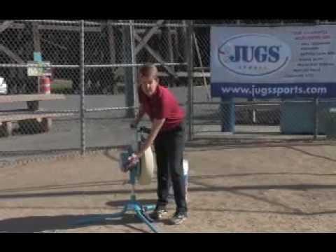 Softball Pitching Machine Maintenance Video Featuring the JUGS Softball Pitching Machine