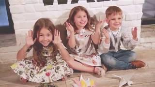 Василиса в рекламе для Центрального Детского Магазина и big baby boom magazine.