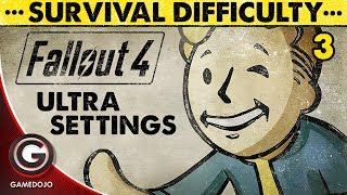 FALLOUT 4 GAMEPLAY SURVIVAL MODE 🔴ULTRA GRAPHIC SETTINGS ON PC WALKTHROUGH | 3