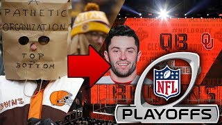 How The Cleveland Browns Will Go From 0-16 to the Playoffs in One Year