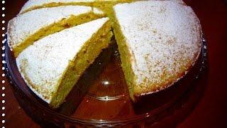 Ароматный пирог из тыквы. Простой рецепт