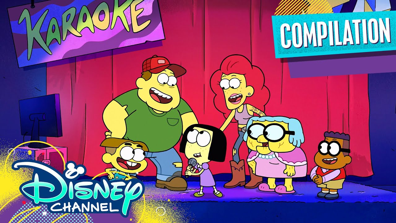 Okay Karaoke ?   Music Video Compilation   Big City Greens   Disney Channel Animation