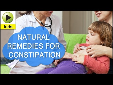 Kids Health: Constipation - Natural Home Remedies for Constipation