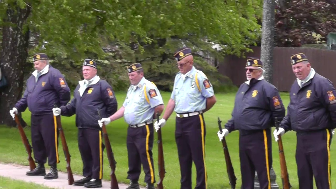 American Legion Post 912 Memorial Day  5-29-17