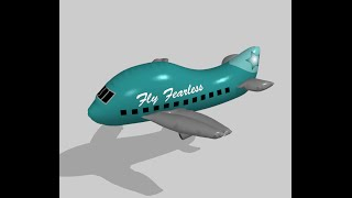 How to Make an Inflatable Airplane in Marvelous Designer