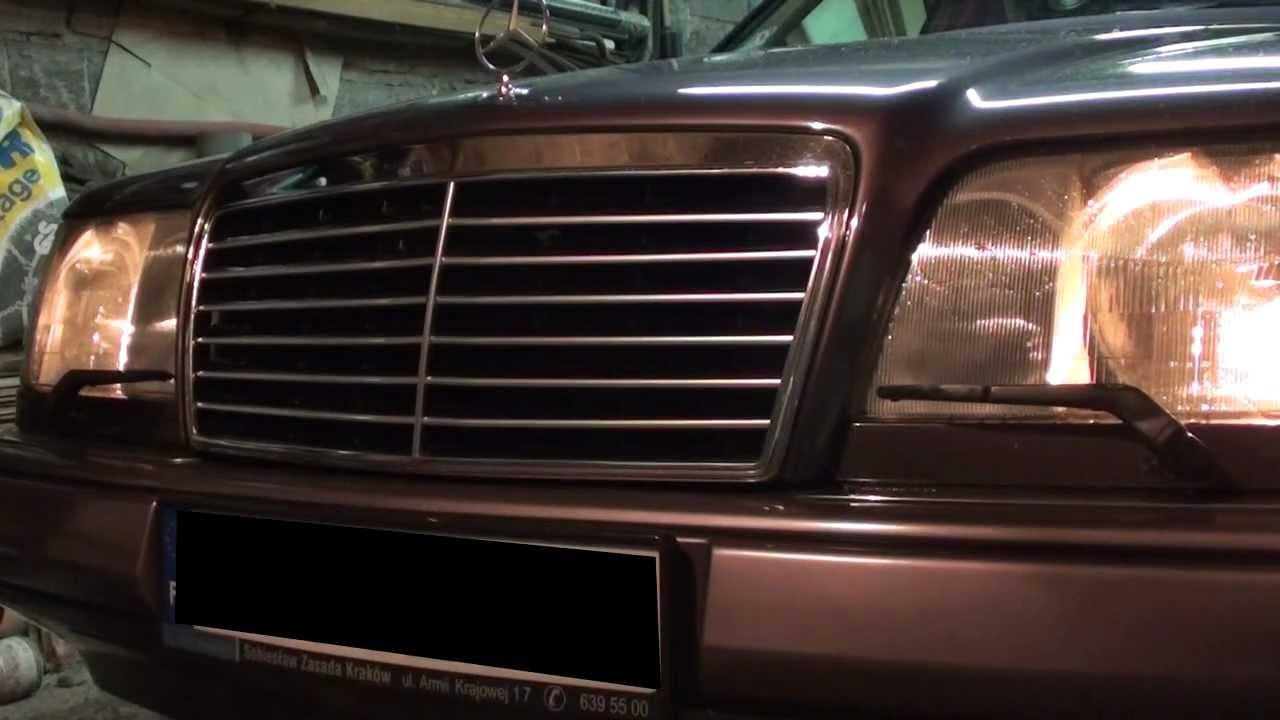 Mercedes Benz W124 Headlamp Wiper Washer Repair Avi Youtube