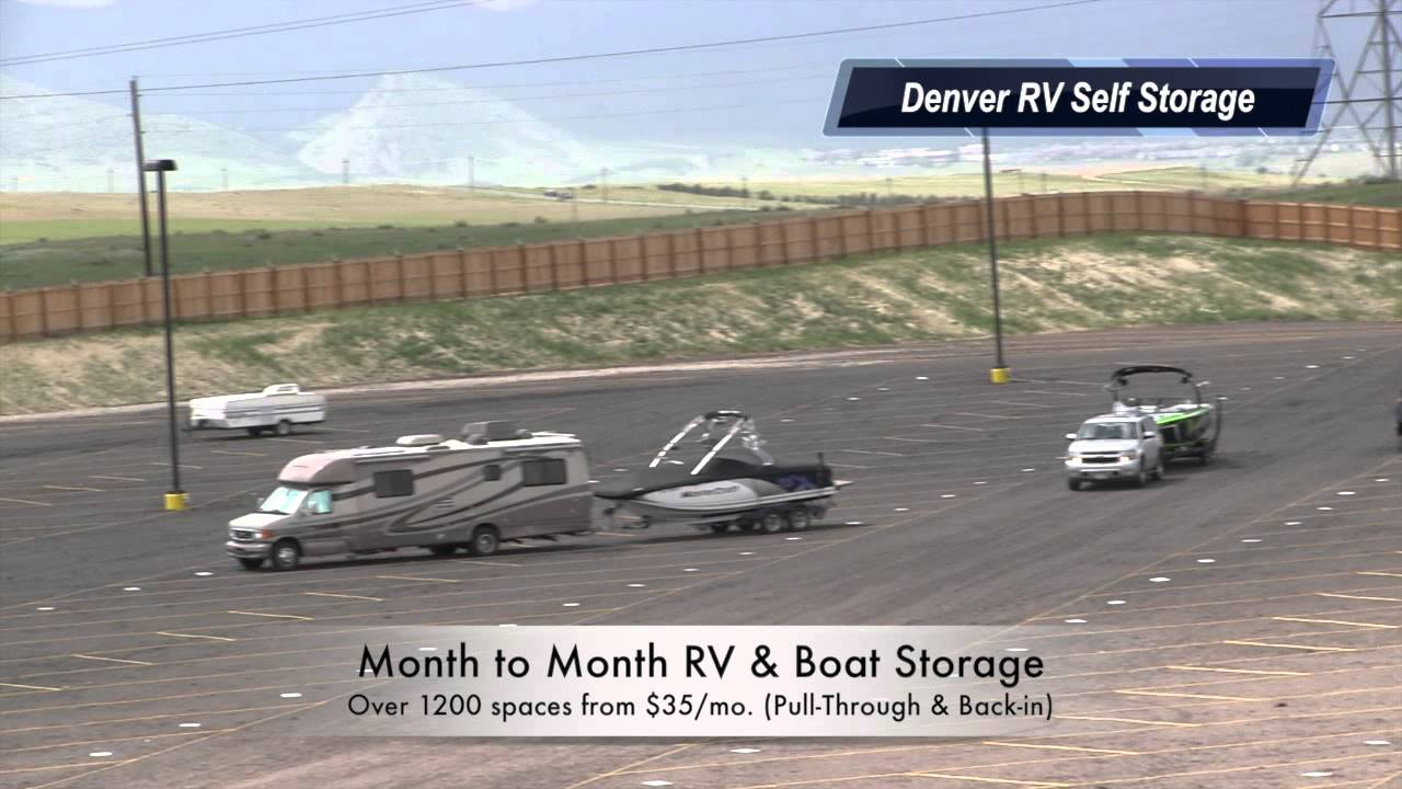 Rv Storage Denver Grand Opening At Self