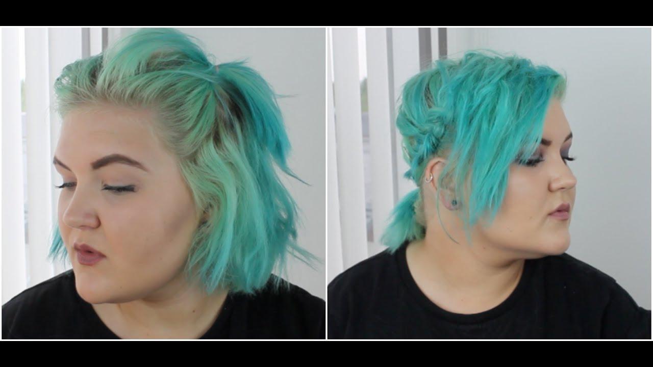 Hairstyles For Short Hair // Space Buns, Braids Etc.