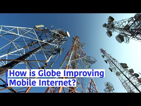 How is Globe Improving Mobile Internet?
