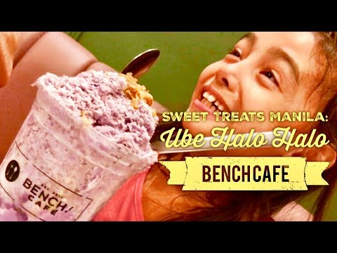 Sweet Treats Manila: Ube Halo Halo at Bench Cafe Bonifacio High Street BGC Taguig