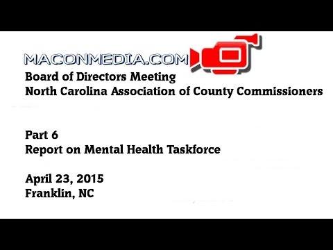 NCACC Board of Directors -- April 2015 Part 6