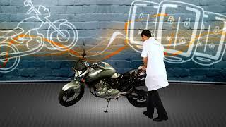 Instalação do alarme Pósitron DuoBlock dedicado para Honda CB300