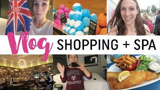 Vlog #24 - Shopping + spa Lush à LONDRES