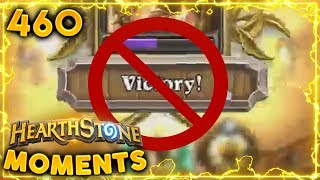 Victory = Defeat?? Bug.. | Hearthstone Daily Moments Ep. 460