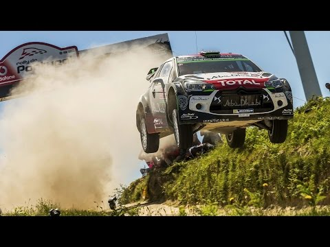 Dirt Rallying And Big Crashes In Portugal - FIA World Rally Championship 2015