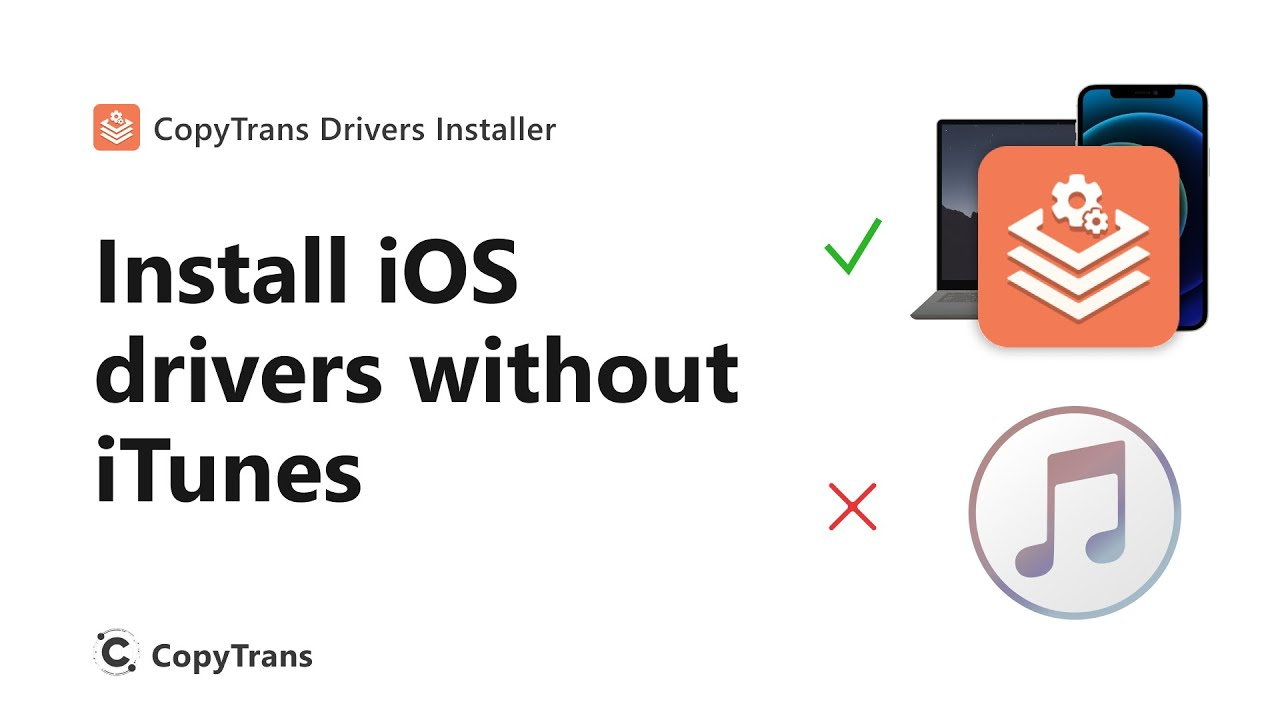 Install iPhone, iPod Touch and iPad drivers without