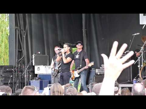 Scott Stapp Creed Can You Take Me Higher Madison Brat Fest 2014