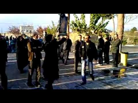 Iran Tehran 13 Dec 2012 Robat karim, Satar Beheshti 40 day ceremony at his garve