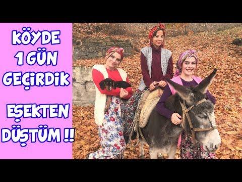 KÖYDE 1 GÜN GEÇİRDİK | IŞIL EŞEKTEN DÜŞTÜ !! KÖPEK ISIRDI !! | VLOG - Eğlenceli Çocuk Videosu