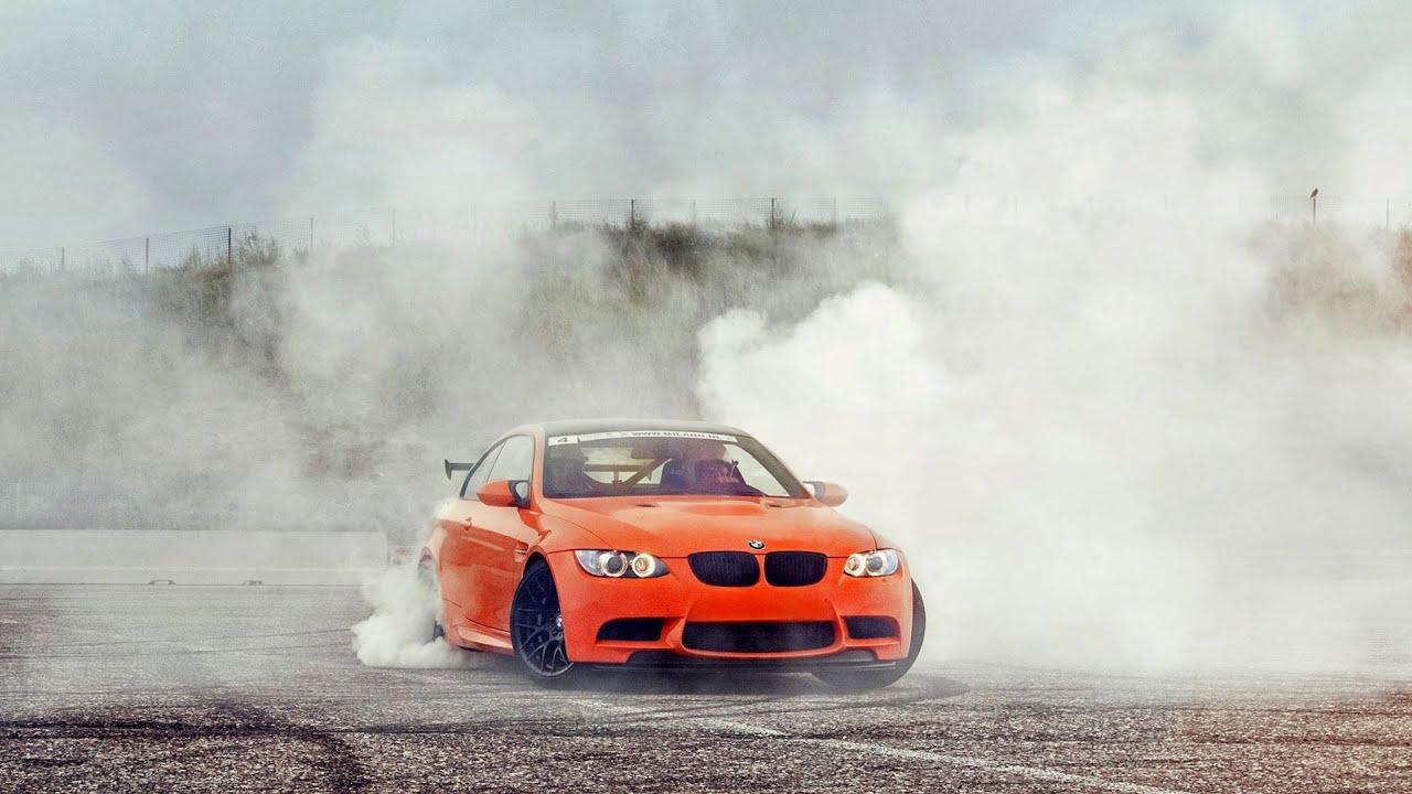 BMW M3 GTS - Crazy BURNOUTS!- 1080p HD - YouTube